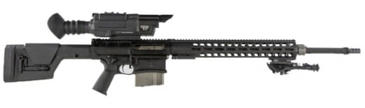 "DRD Tactical K338BLKTPHC Kivarri with Tracking Point Scope Semi-Auto 24"" 10+1 Magpul PRS Black Hardcoat Anodized"