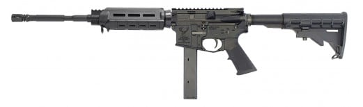 "Stag Arms 800005L Stag 9 OCR Left Hand Semi-Auto 16"" 32+1 Magpul CTR Black Hardcoat Anodized"