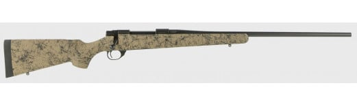 """Howa HHS63303 HS Precision Rifle Bolt 24"""" 3+1 Synthetic HS Precision Green w/Black Web Stock Black"""