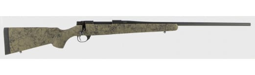 """Howa HHS63703 HS Precision Rifle Bolt 24"""" 3+1 Synthetic HS Precision Green w/Black Web Stock Black"""