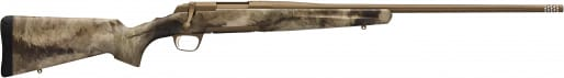 "Browning 035379216 X-Bolt Hells Canyon Speed Bolt 7mm / 08 Rem 22"" 4+1 A-tacs AU Stock Burnt Bronze Cerakote"