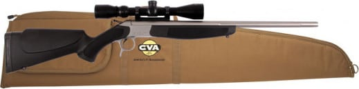 CVA CR4911SSC Scout V2 35WHELEN 25 w/ Brake SS Black PKG