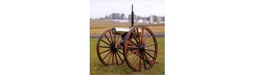 Colt Defense CGG1877HSCM Gatling GUN 1877 HS Bulldog 10 BBL Carriage