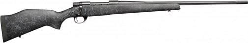"""Weatherby VLE256RR4O Vanguard Wilderness Bolt .25-06 24"""" 5+1 Synthetic Black w/Gray Spiderweb Stock Blued"""