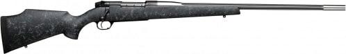 "Weatherby MAMM338LR8B Mark V Accumark Bolt .338 Lapua . Magnum 28"" Fluted 2+1 Synthetic Black w/Gray Spiderweb Stock Blued"