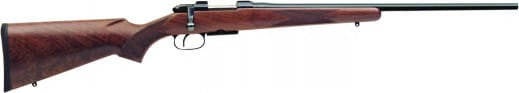 "CZ 03045 CZ 527 Varmint Bolt .204 Ruger 24"" Walnut Blue"