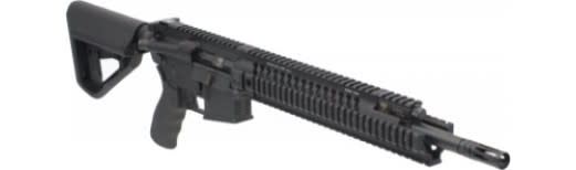 Adams Arms FGAA00045 MID TAC EVO 300Black JET Comp 14.5""
