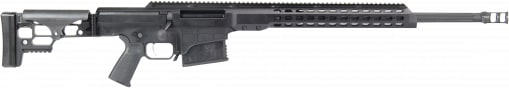 "Barrett 14355 MRAD Bolt .338 Lapua . Magnum 24"" 10+1 Folding Hard Coat Anodized"