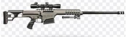 "Barrett 14814 98B LW 7MM 24"" 10rd"