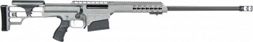 "Barrett 14802 M98B .338 Lapua . Magnum 24"" 10+1 Fixed Metal Gray Stock Gray Cerakote"