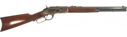 Cimarron CA2011G35 Uberti 1873 Saddle Rifle 45LC 18 Case Hard