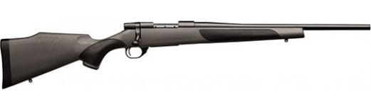 """Weatherby VCT243NR0O Vanguard Series 2 Carbine Bolt 20"""" 5+1 Synthetic w/Rubber Panels Gray Stock Blued"""