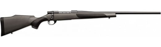 Weatherby VGT257WR6O WBY Synthetic 26 Gray w/ Black Griptonite
