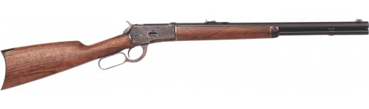"""Taylors and Company 424 1892 Lever Action Rifle 24"""" 12+1 Walnut Oil Finish Stock Blued Barrel/Case Hardened Receiver"""