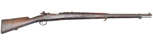 1894 Brazilian Mauser 7mm 5 Round Bolt Action - Surplus C & R Eligible