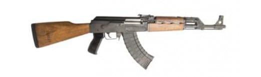 """ATI GAT47FSMCA AT47 Gen 2 *CA Compliant* Semi-Auto 7.62x39mm 16.5"""" 10+1 Wood Stock Black Parkerized"""