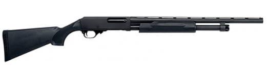 "H&R Pardner Pump 20GA Shotgun, 21"" Black Synthetic Stock Black Finish - 72282"