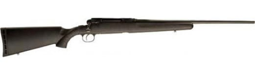 """Savage Arms 57235 Axis .243 22"""" Matte Blued / Black Synthetic Ergo Stock"""