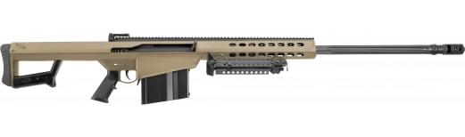 """Barrett 16133 M82 A1 Non-Detachable Magazine Semi-Auto 29"""" 10+1 Fixed Flat Dark Earth Stock FDE/Black"""