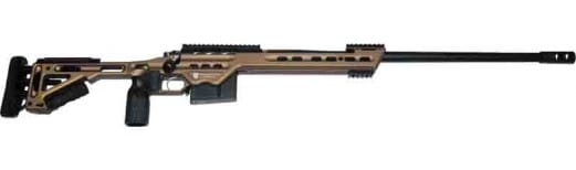 """MasterPiece Arms MPA338BABB Bolt Action .338 Lapua 26"""" Chassis Burnt Bronze"""