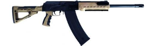 "Kalashnikov USA KS12TFDE KS12T 12GA. 18.25"" 3"" 1-10rd Magnum Black/FDE M4 Stock"