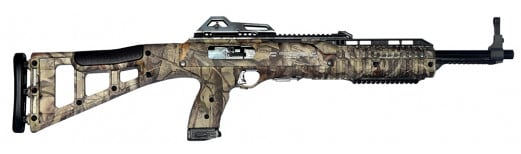 "Hi-Point 4095TSWC 4095TS Tactical Rifle Semi-Auto 40 Smith & Wesson 16.5"" 10+1 Polymer Skeleton Woodland Camo Stock Woodland Camo"