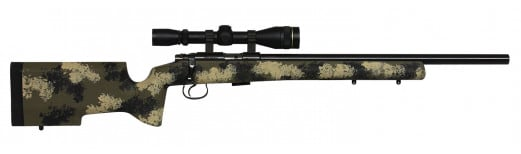 "CZ 02256 CZ 455 Varmint Trainer Bolt 22 LR 24"" 5+1 Synthetic Camo Stk"