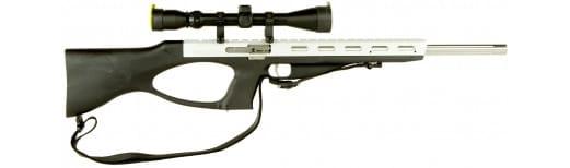 """Excel EA57107 Accelerator Rifle MR-5.7 Semi-Auto 5.7mmX28mm 18"""" 9+1 Silver"""