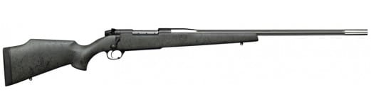 "Weatherby MARS240WR4O Mark V Accumark RC Bolt 240 Weatherby Magnum 24"" 5+1 Synthetic Gray w/Black Spiderweb Stock SS"
