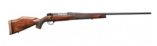 "Weatherby MDXS240WR4O Mark V Deluxe Bolt 240 Weatherby Magnum 24"" 5+1 Walnut Stock Blued"