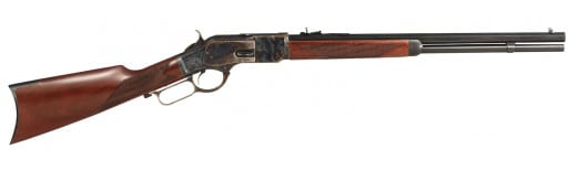 "Taylors and Company 2043 1873 Lever 357 Magnum 20"" 10+1 Walnut Stock Case Hardened"