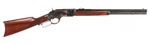 "Taylors and Company 2043COM 1873 Comanchero Lever 357 Magnum 20"" 10+1 Walnut Stock Case Hardened"