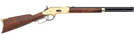 "Taylors and Company 201E 1866 Sporting Lever 38 Special 20"" 10+1 Walnut Stock Blued"