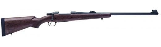 """CZ 04210 CZ 550 American Safari Magnum Bolt 458 Lott 25"""" 5+1 Walnut Stock Blued"""