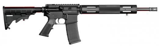 "Bushmaster 91053 XM-15 Carbine Semi-Auto 300 AAC Blackout/Whisper (7.62x35mm) 16"" HB 30+1 6-Position Black"