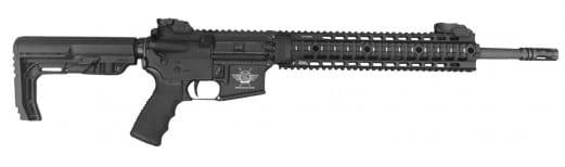 "Civilian Force Arms 010117KR Katy-15 Rifle Semi-Auto .223/5.56 NATO 16"" 30+1 6-Position Hard Coat Anodized"