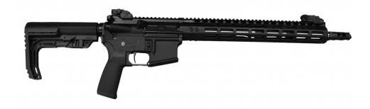 "Civilian Force Arms 010117WR Worrior-15 Rifle Semi-Auto .223/5.56 NATO 16"" 30+1 6-Position MFT BMS Minimalist Hard Coat Anodized"
