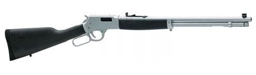 "Henry H012AW Big Boy All Weather Lever 44 Magnum 20"" 10+1 Hardwood Chrome"