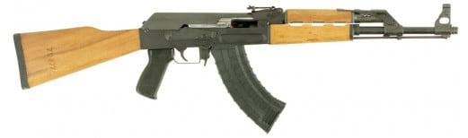"""ATI GAT47FSM AT47 Gen 2 Semi-Auto 7.62x39mm 16"""" 30+1 Wood Stock Black Parkerized"""
