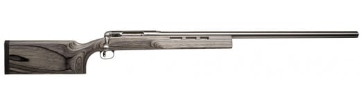 """Savage 18155 12 F Class Bolt 6.5x284 Norma 30"""" 1 Laminate Gray Stock Stainless Steel"""