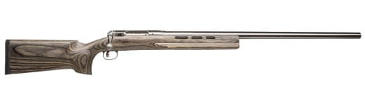 """Savage 18614 12 Benchrest Bolt 6mm Norma Bench Rest 29"""" 1 Laminate Gray Stock Stainless Steel"""