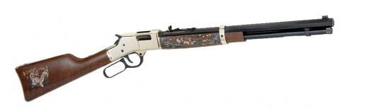"Henry H006WL2 Big Boy Wildlife Edition II Lever 44 Magnum 20"" 10+1 American Walnut Stock Blued Barrel/Brass Receiver"