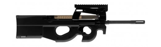 """FN 3848950460 PS90 Standard Semi-Auto 5.7mmX28mm 16"""" 30+1 Black"""