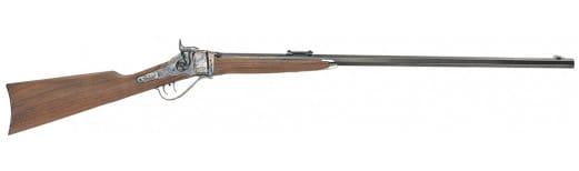 "Taylors and Company 138 1874 Sharps Sporting Sliding Breechblock 45-70 Government 32"" 1 Walnut Stock Blued Barrel/Case Hardened Receiver"