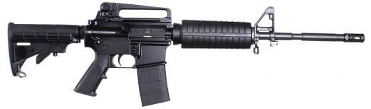 """Windham Weaponry R16M4A4T WW-15 MPC Semi-Auto .223/5.56 NATO 16"""" 30+1 6-Position Black Stock Black"""