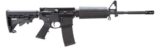 "Core 15 Rifle Systems 100284 M4 AR-15 Base SA 223/5.56 16"" 30+1 6 Pos Stock Black"
