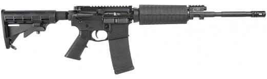 """Core 15 100279 Base M4 Pistons 223 Rem/5.56 NATO 16"""" 30+1 Black 6-Position Stk"""