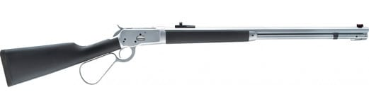 """Taylors and Company AKTD44 1892 Alaskan Take-Down Lever 44 Rem Mag 20"""" 10+1 Wood w/Black Rubber Overmold Stock Chrome Matte"""