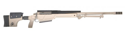 "Sig Sauer R50H29FAM SIG50 with Muzzle Brake & Bipod Bolt 50 Browning Machine Gun (BMG) 29"" 5+1 Adjustable/Detachable Flat Dark Earth Stock Flat Dark Earth"