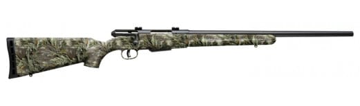 "Savage 19979 25 Walking Varminter Bolt 22 Hornet 22"" 4+1 Synthetic Realtree Xtra Green Stock Black"